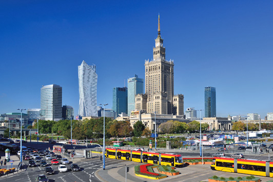 Warsaw is a modern and fast-developing metropolis that cherishes its traditions and rich cultural heritage.