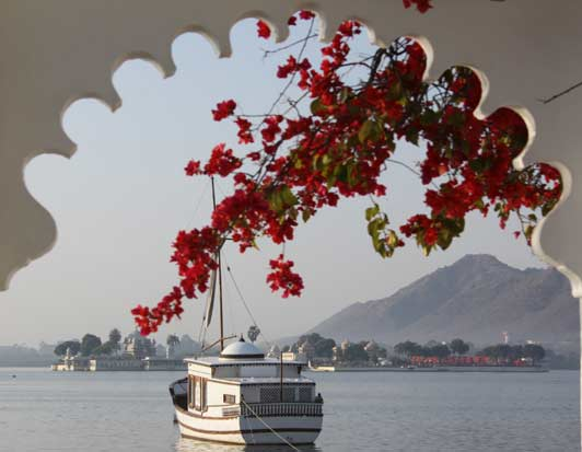 This 18th-century palace floating on a lake in Udaipur is easily the most romantic hotel in India.